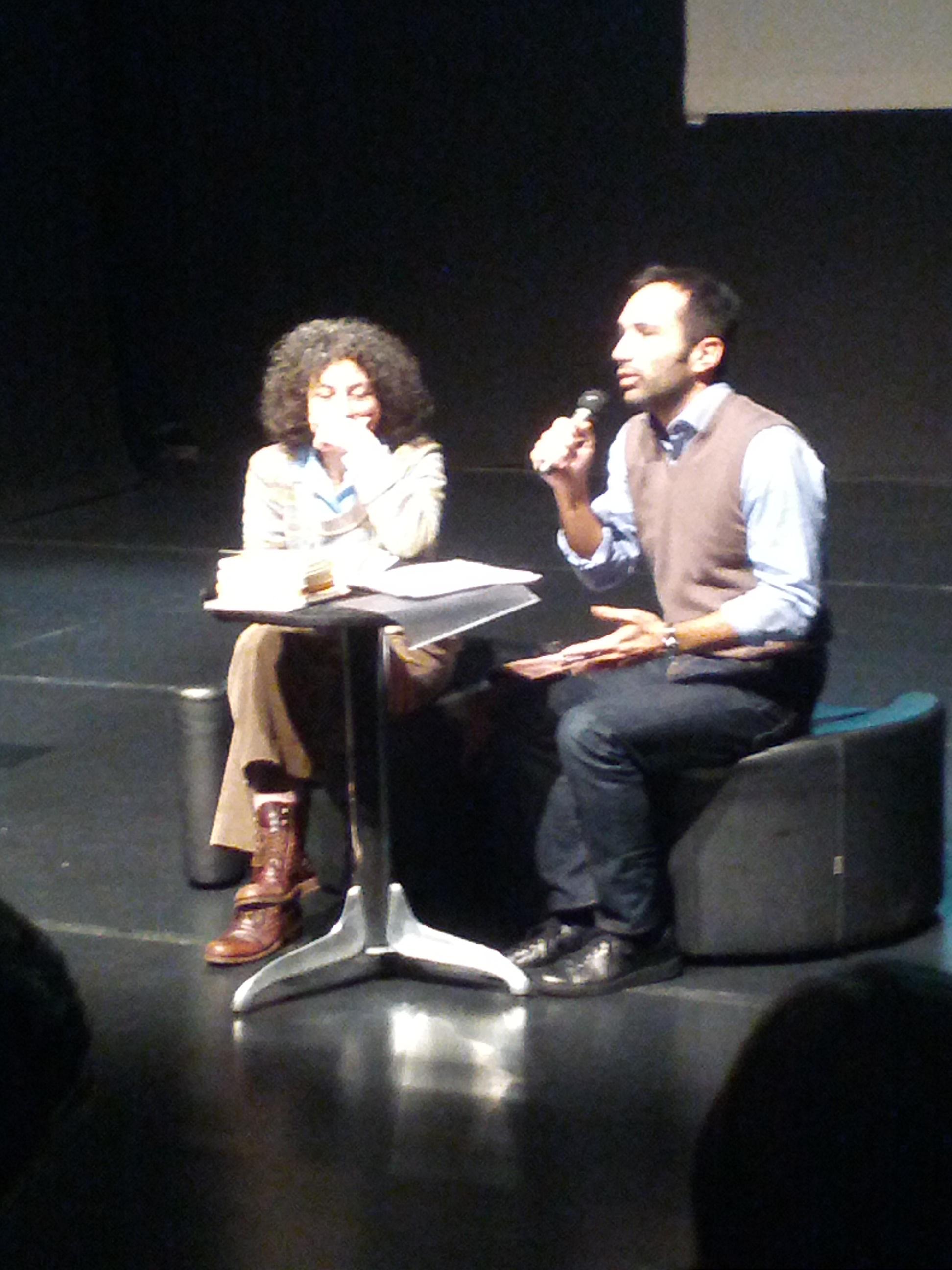 TerniPoesia - 24 marzo 2013  Maria Grazia Calandrone e Simone Zafferani
