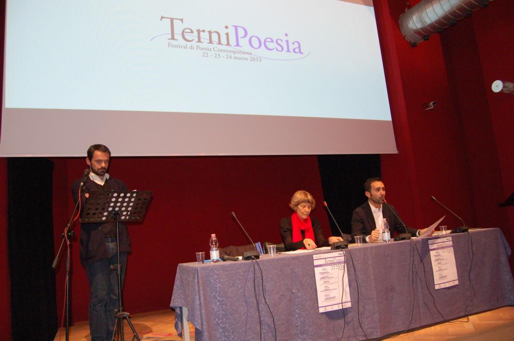 TerniPoesia - 22 marzo 2013  Biancamaria Frabotta, Poesia e Testimonianza